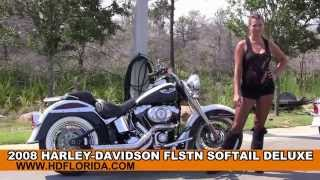5. Used 2008 Harley Davidson Softail Deluxe Motorcycles for sale in Panama City Beach