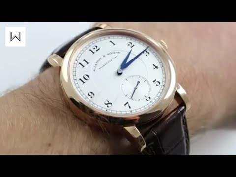A. Lange & Sohne 1815 Ref. 233.032 Luxury Watch Review