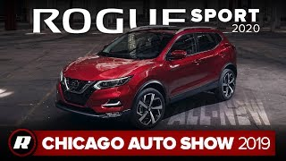 2020 Nissan Rogue Sport gets better looks, more safety tech   Chicago 2019 by Roadshow