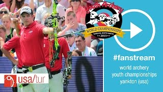 Yankton (SD) United States  city photo : #FanStream: USA v Turkey – Compound Junior Men's Team Gold Final | Yankton 2015