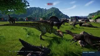 Jurassic World Evolution: Battle Royale dinosaur edition (part 1)