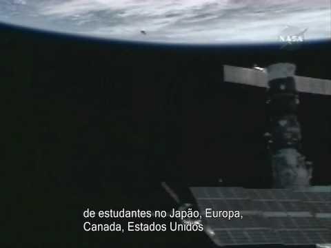 Astronaut suit in macabre real life Gravity scene