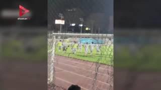 تدريبات الزمالك قبل المباراة الودية أمام أكاديمية مصر