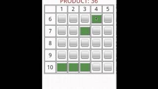 Times Table Grid Game YouTube video