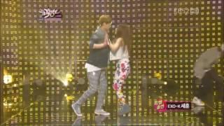 BoA and Sehun