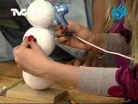 Cómo hacer un Muñeco de Nieve (EC)