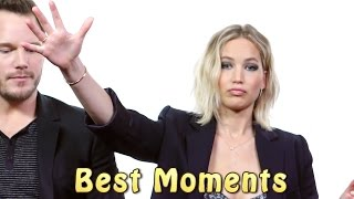 Jennifer Lawrence And Chris Pratt ★ Best Funniest Moments