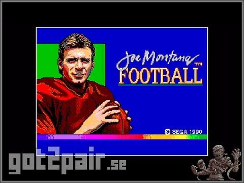 Joe Montana Football - Master System