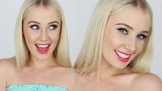 QUICK & SIMPLE Spring-Inspired Makeup Tutorial! Lauren Curtis by Lauren Curtis