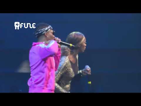 Tiwa Savage Brings Wizkid On Stage At One Africa Music Fest Dubai