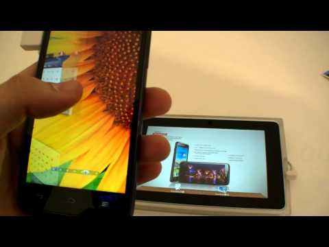 Huawei Ascend D1 Hands On (English)