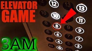 Video (GONE WRONG) PLAYING THE ELEVATOR GAME AT 3AM CHALLENGE (We saw her...) MP3, 3GP, MP4, WEBM, AVI, FLV Mei 2019