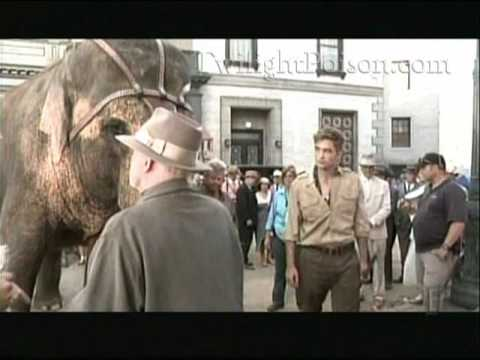 Water For Elephants behind the scenes interview Part 2