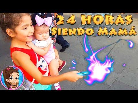 24 HORAS SIENDO MAMÁ | RETO | CHALLENGE | UNBOXING | REVISIÓN