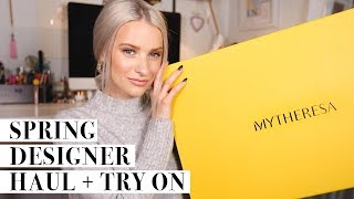 HUGE Premium UNBOXING and Try On Haul for Spring | Discovering New Season Designer Pieces ad