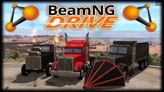 Tunagem de caminhões, isso existe? Sim, e hoje no Beamng Drive vou mostrar pra vocês como eles são INSANAMENTE...