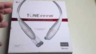 Video Review: NEW 2014 LG TONE INFINIM™ (HBS-900) Premium Headset MP3, 3GP, MP4, WEBM, AVI, FLV Juli 2018
