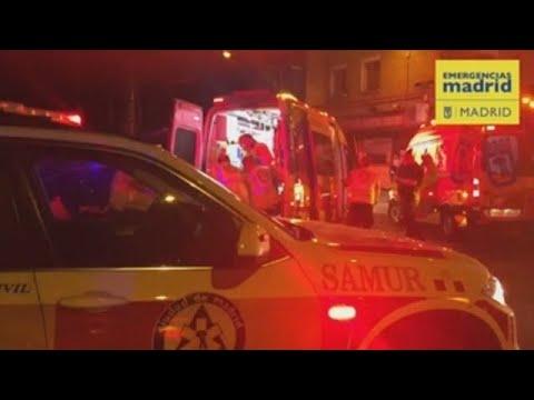 Brasileño muerto y dominicano gravemente herido en Madrid (VÍDEO)
