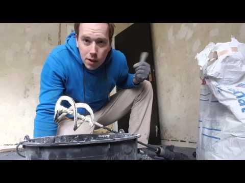 Haus renovieren #20 - Kabel in der Wand verlegen und verputzen