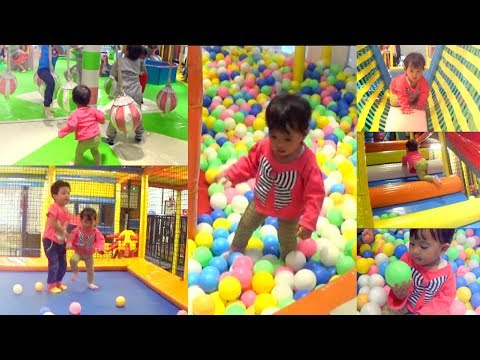 Zia Mandi Bola Di Ultahnya Ke-1! Baby Zia Plays In Pool Fun Balls On Her First Birthday!