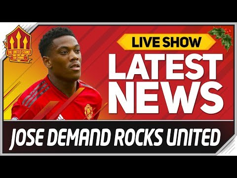 MOURINHO Ultimatum Rocks Man Utd! Man Utd News Now