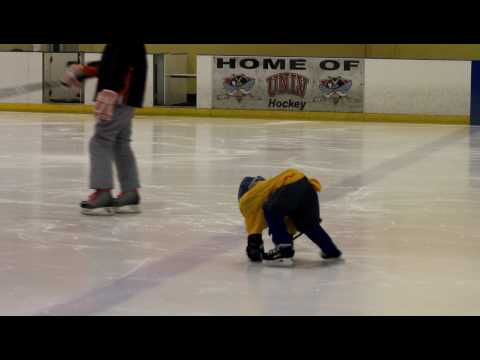 Preston skating drills @ ice hockey practice