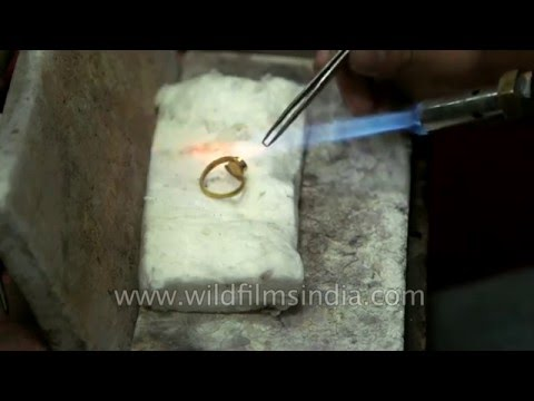 Making of a Gold ring : Indian jewellery