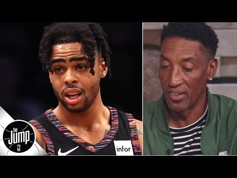 Video: Scottie Pippen isn't sure how D'Angelo Russell and Steph Curry fit together   The Jump
