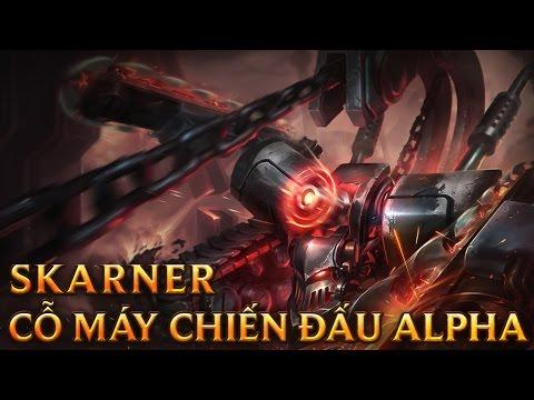 Skarner Cỗ Máy Chiến Đấu Alpha - Battlecast Skarner