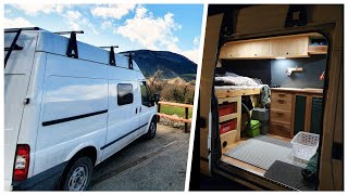 Carpenters ULTRA SECURE & HIGHLY PRACTICAL Self-Build CAMPERVAN 🔒⚒️ by Nate Murphy