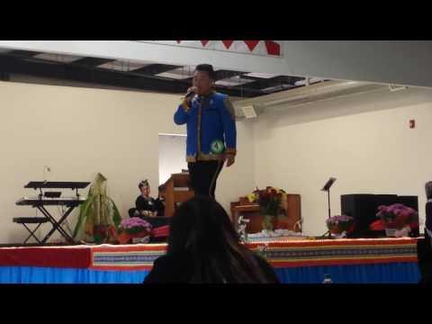 #4 Tub Ntxhuav Thoj, Introduction Round | Arkansas Hmong New Year Pageant 2016-17 (видео)
