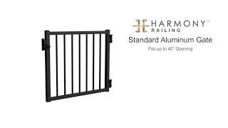 Standard Aluminum Gate Installation