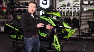 8. 2018 Arctic Cat Snowmobile Front Suspension Setup and Adjustments