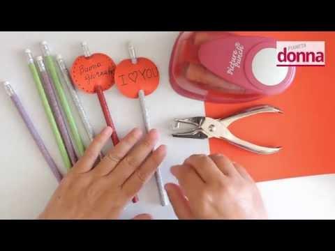 come fare delle decorazioni per matite - tutorial