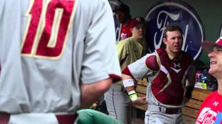 Boston College Eagles play Boston Red Sox