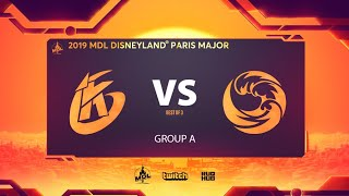 Keen Gaming vs Beastcoast, MDL Disneyland® Paris Major, bo3, game 1 [Eiritel & Inmate]