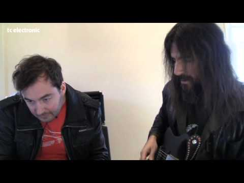 Bumblefoot doing TonePrints for TC Electronic's Vortex Flanger