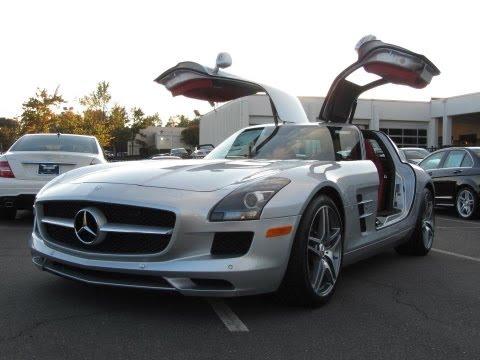 2012 Mercedes Benz Sls Amg Start Up photos
