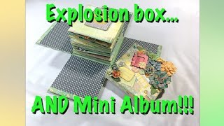 This is what would happen if a mini album and an explosion box married and had a baby. :-) Tutorial available on Etsy: http://etsy.me/2rNkjHdKits: https://photographsmemories.netPlease like, share & subscribe!https://www.youtube.com/user/imageofthecreator?sub_confirmation=1 Buy great paper craft items (single or small numbers!)http://katjascraft.marktplaza.nl Follow me on my blog:http://www.creatorsimagestudio.com  Find the tutorials in my Etsy shop:http://www.etsy.com/nl/shop/CreatorsImageStudio Follow me on Instagram:https://www.instagram.com/katjascraft Follow me on Pinterest:https://www.pinterest.com/KatjasCraft Follow me on Twitter:http://www.twitter.com/KatjasCraft Follow me on Snapguide:https://snapguide.com/katjas-craft/Music: Rite of Passage by Kevin McLeod, www.incompetech.com