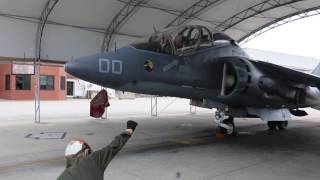 DCA takes to the skies. HD Video by Cpl. Jason Jimenez     Marine Corps Air Station Cherry Point      06.30.2017  --  Lt. Gen. Jon Davis flies an AV-8B Harrier with Marine Attack Training Squadron 203 at Marine Corps Air Station Cherry Point, N.C., June 30, 2017. Davis completed Harrier pilot training in October 1982 while assigned to VMAT-203, Marine Aircraft Group 14, 2nd Marine Aircraft Wing. In 1998, Davis returned to MCAS Cherry Point where he was the commanding officer of VMA-223, MAG-14, 2nd MAW. From 2010 to 2012, he was the commanding general of 2nd MAW. Currently, Davis is the deputy commandant for aviation. (U.S. Marine Corps video by Cpl. Jason Jimenez/ Released.).