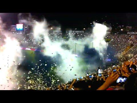 ALIANZA LIMA vs. universitario 1-1 - recibimiento al equipo 01/04/2016 - Comando SVR - Alianza Lima