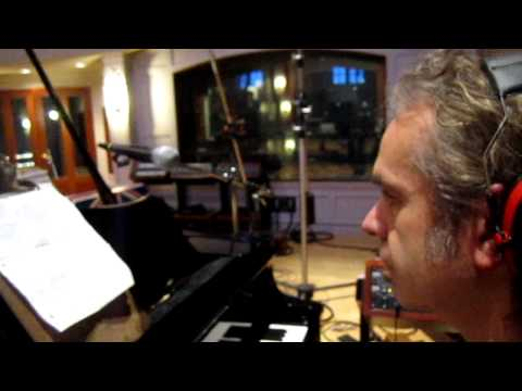Producer Michael Behm Recording Grand Piano to