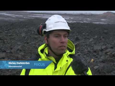iFOCUS Första malmsprängningen i Tapuli gruvan 18 okt 2012