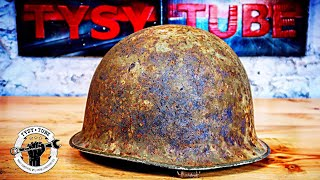 Video Rusty Helmet Restoration - Army Helmet MP3, 3GP, MP4, WEBM, AVI, FLV Juli 2019