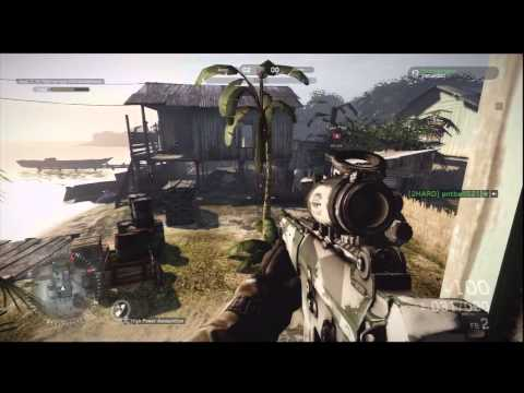 junglemap - Medal of Honor: Warfighter - Multiplayer: Home Run on Tungawan Jungle Map, 1 Kill, HD Gameplay PS3.