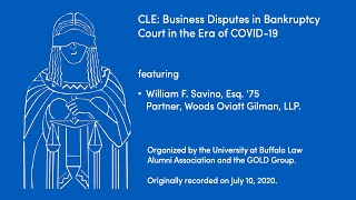 cover page of our July 10th CLE presentation on Bankruptcy Court