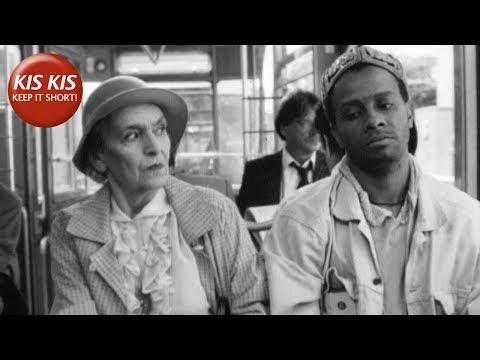 """Court-métrage contre le racisme   """"Voyageur noir"""" (Schwarzfahrer) - de Pepe Danquart"""