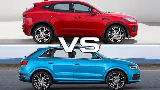2018 Jaguar E-Pace vs 2016 Audi Q3Song: Fenix [Rewind Remix Release]Music provided by Rewind Remix https://goo.gl/08ZthIArtist: DJ Daniele