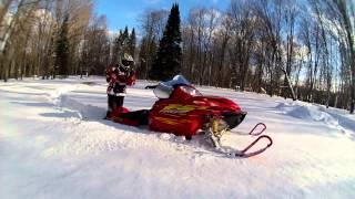 5. F5 Arctic Cat & Kenny stuck