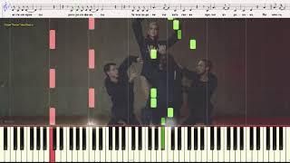 Ни много ни мало - Подольская Наталья (Ноты и Видеоурок для фортепиано) (piano cover)